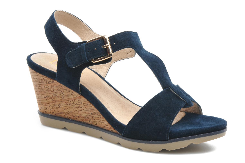 Sandales et nu-pieds Lotus Mirror Bleu vue détail/paire