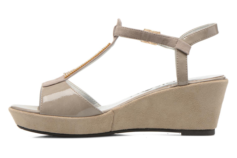 Sandales et nu-pieds Madison Escada Beige vue face