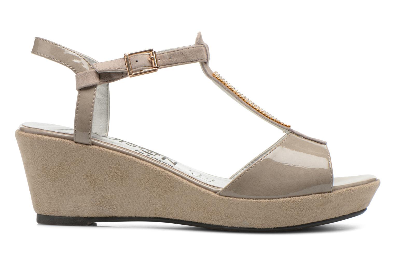 Sandales et nu-pieds Madison Escada Beige vue derrière