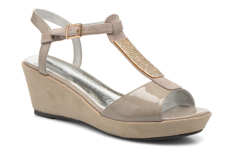Sandales et nu-pieds Madison Escada Beige vue détail/paire