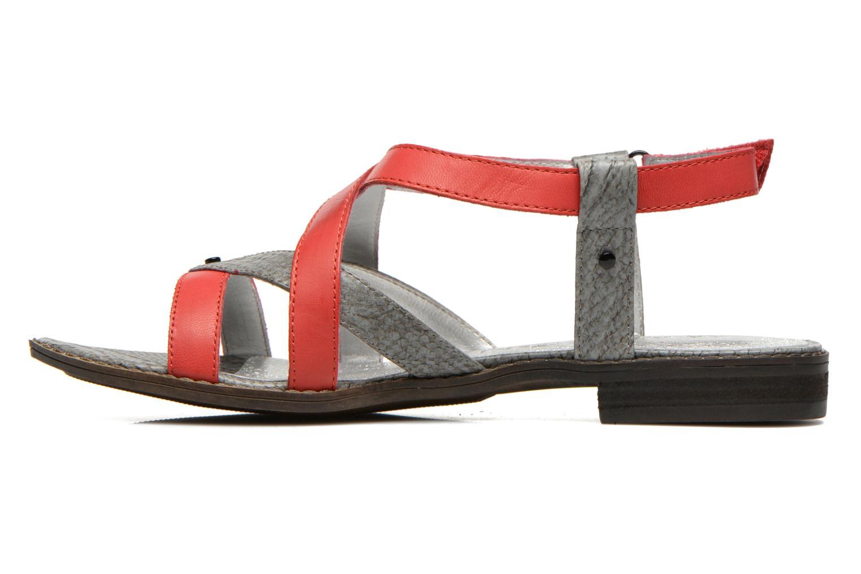 Sandales et nu-pieds Madison Runan Rouge vue face