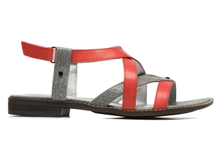Sandales et nu-pieds Madison Runan Rouge vue derrière