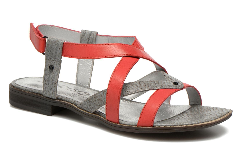 Sandales et nu-pieds Madison Runan Rouge vue détail/paire