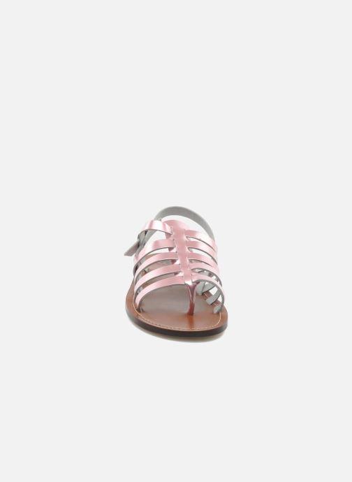 Sandales et nu-pieds PèPè Alteri Rose vue portées chaussures