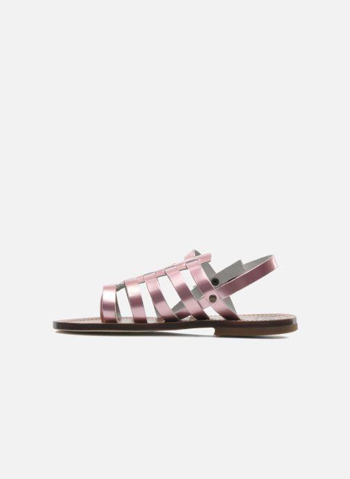 Sandales et nu-pieds PèPè Alteri Rose vue face
