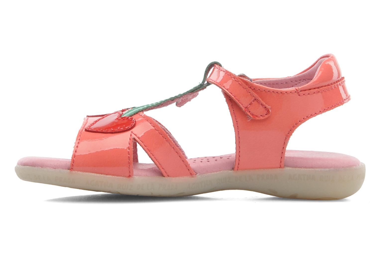 Sandales et nu-pieds Agatha Ruiz de la Prada Cereza Rose vue face