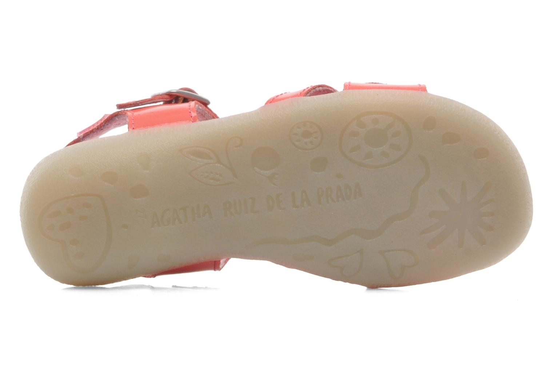 Sandales et nu-pieds Agatha Ruiz de la Prada Cereza Rose vue haut