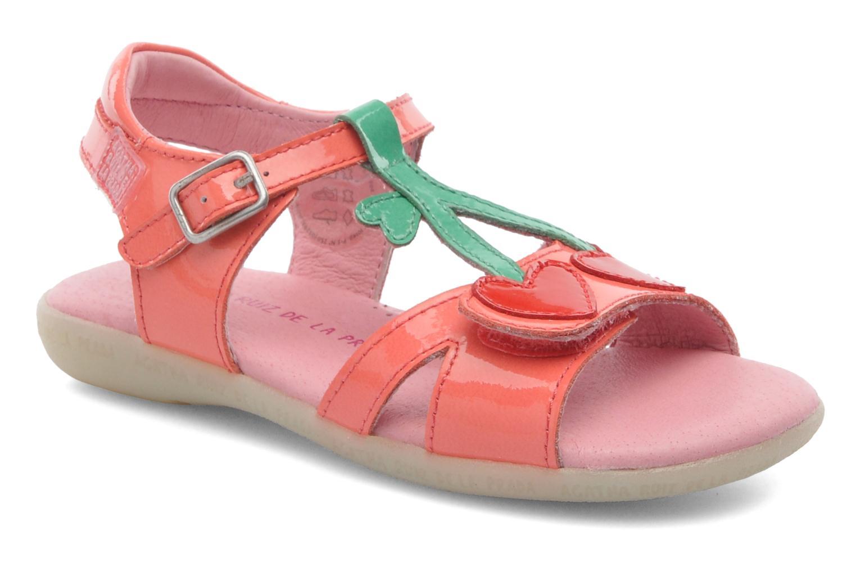Sandales et nu-pieds Agatha Ruiz de la Prada Cereza Rose vue détail/paire