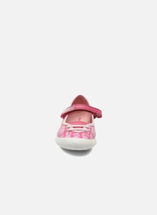 Ballerines Agatha Ruiz de la Prada Sandra Rose vue portées chaussures