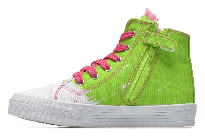 Sneakers Agatha Ruiz de la Prada Delfina Verde immagine frontale