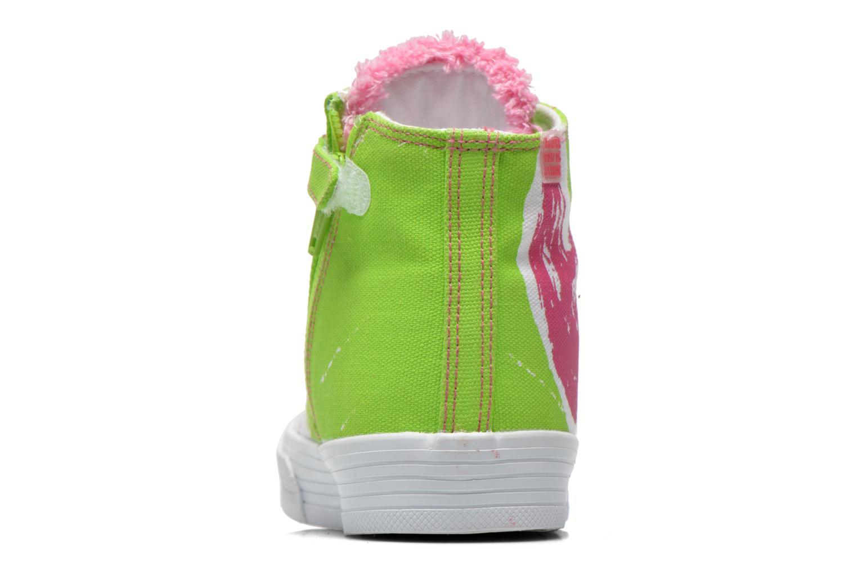 Sneakers Agatha Ruiz de la Prada Delfina Grön Bild från höger sidan