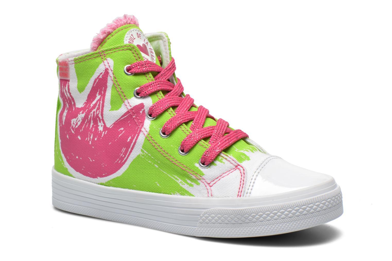 Sneakers Agatha Ruiz de la Prada Delfina Grön detaljerad bild på paret