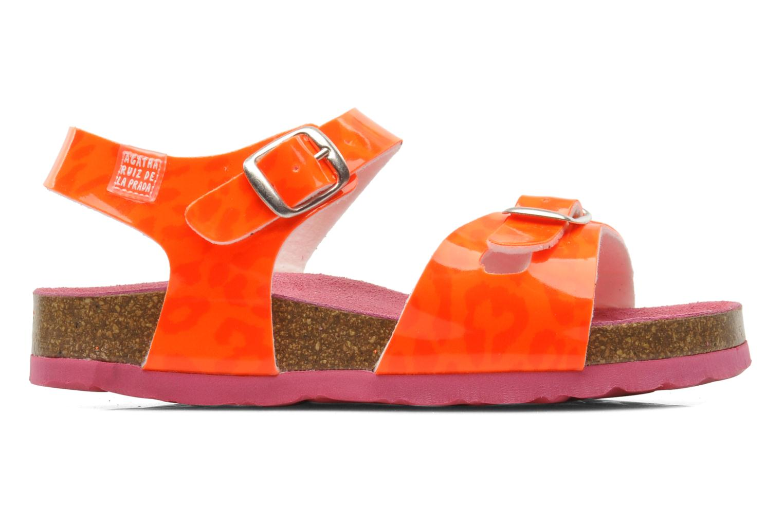 Sandalen Agatha Ruiz de la Prada Dominica orange ansicht von hinten