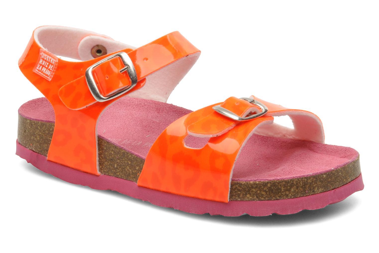 Sandaler Agatha Ruiz de la Prada Dominica Orange detaljerad bild på paret