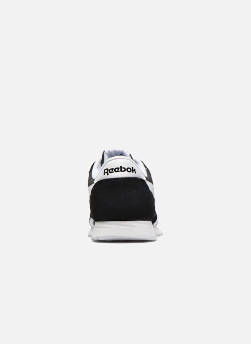 Baskets Reebok Classic Nylon Noir vue droite