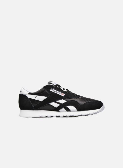 Sneaker Reebok Classic Nylon schwarz ansicht von hinten
