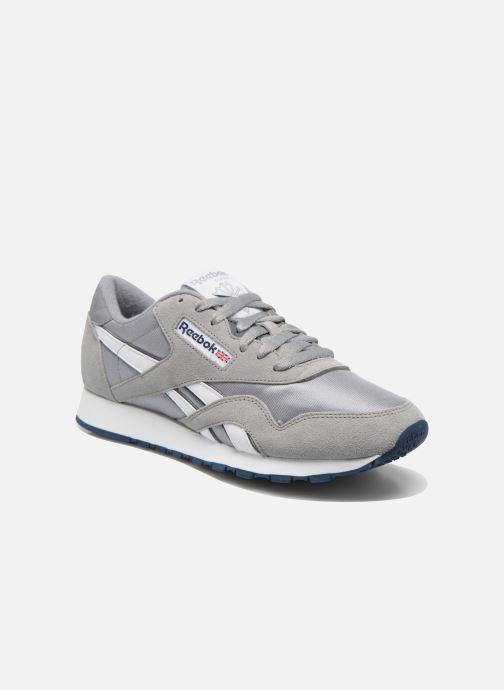 5787e1028f3 Reebok Classic Nylon (Grey) - Trainers chez Sarenza (254156)