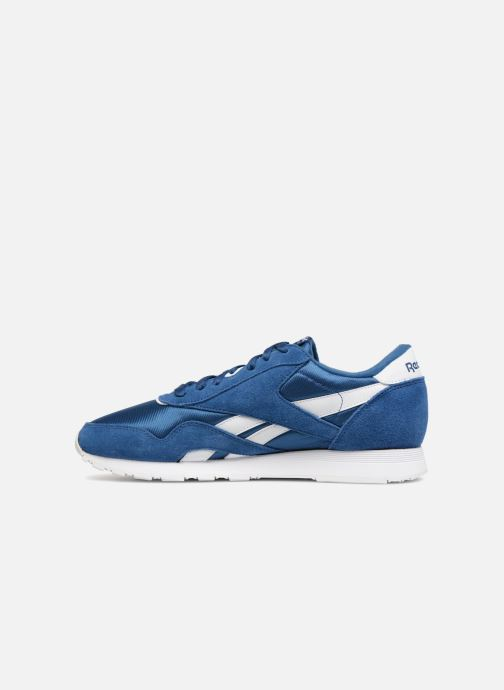Trainers Reebok Classic Nylon Blue front view