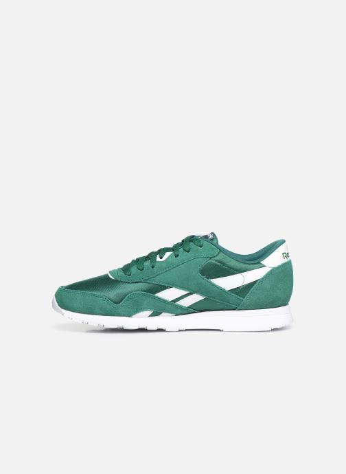 Sneakers Reebok Classic Nylon Grøn se forfra