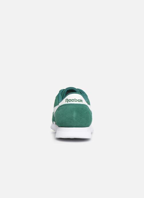 Sneakers Reebok Classic Nylon Grøn Se fra højre