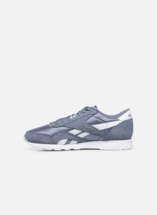 Sneakers Reebok Classic Nylon Azzurro immagine frontale