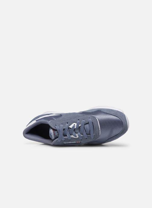 Sneakers Reebok Classic Nylon Azzurro immagine sinistra