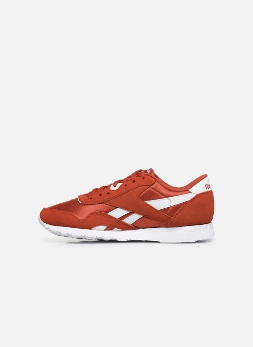Baskets Reebok Classic Nylon Rouge vue face