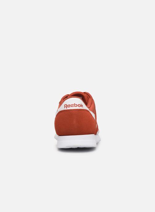 Sneaker Reebok Classic Nylon rot ansicht von rechts