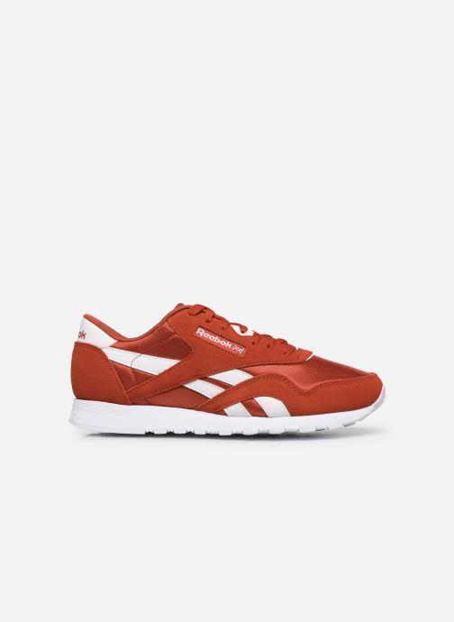 Sneaker Reebok Classic Nylon rot ansicht von hinten