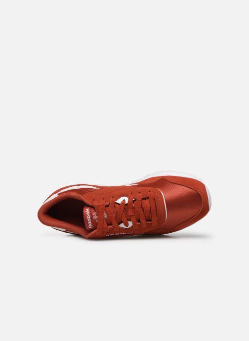 Sneaker Reebok Classic Nylon rot ansicht von links
