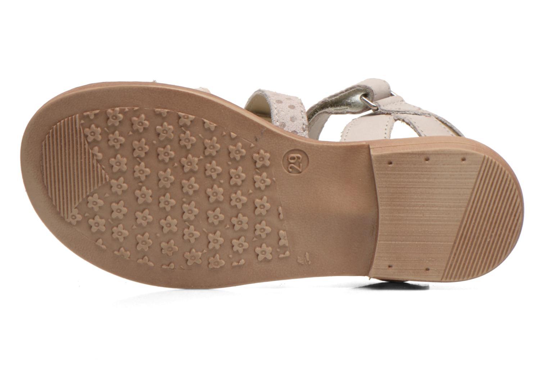 Sandales et nu-pieds Aster TCHAK Gris vue haut