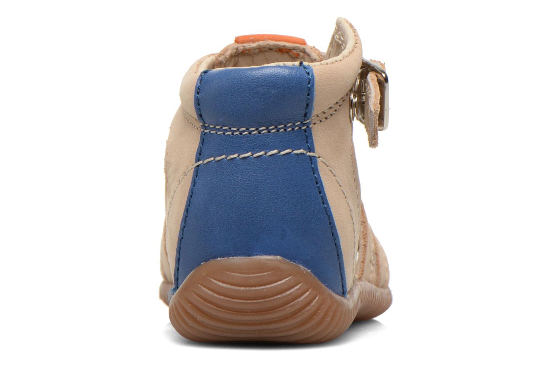 Sandales et nu-pieds Aster DREW Beige vue droite