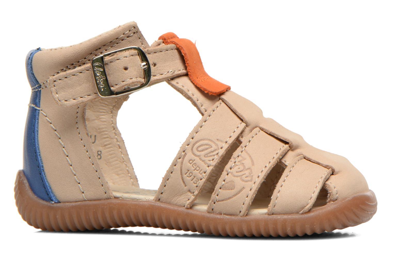 Sandales et nu-pieds Aster DREW Beige vue derrière