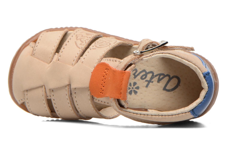 Sandales et nu-pieds Aster DREW Beige vue gauche