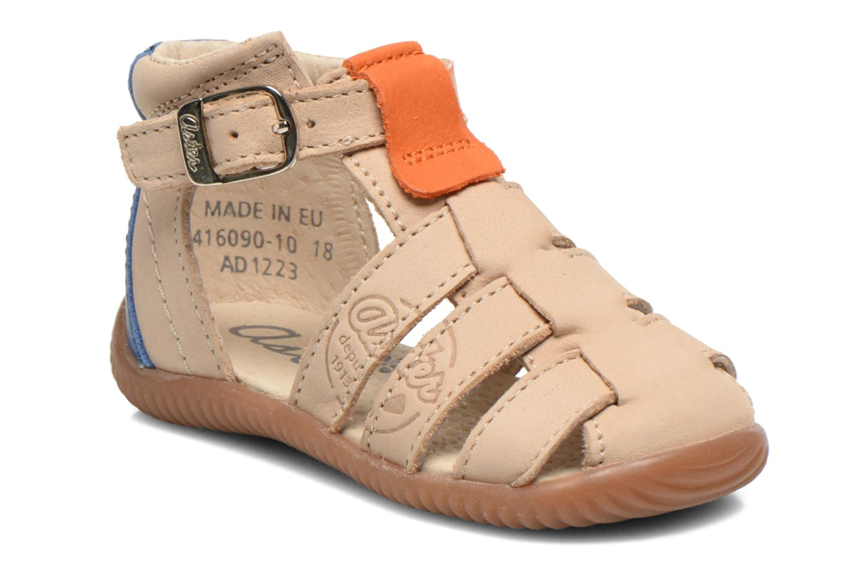 Sandales et nu-pieds Aster DREW Beige vue détail/paire