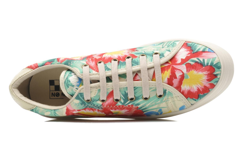 Baskets No Name Plato Sneaker Tropics Multicolore vue gauche