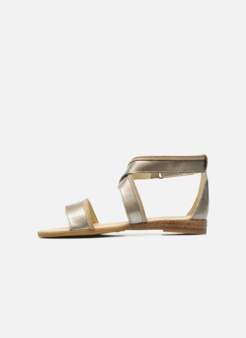 Sandales et nu-pieds Mod8 Joyce Argent vue face