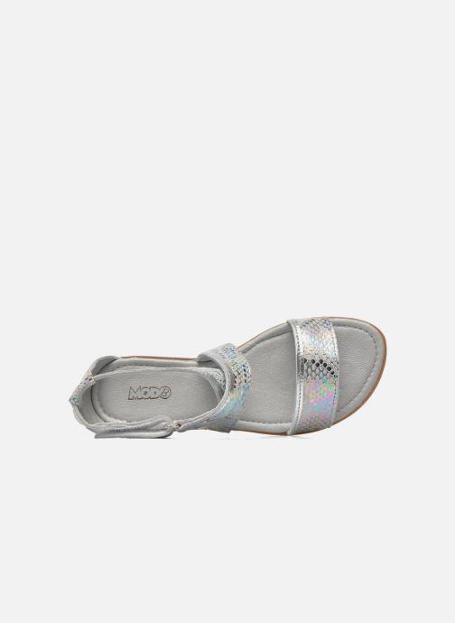Sandales et nu-pieds Mod8 Joyce Argent vue gauche