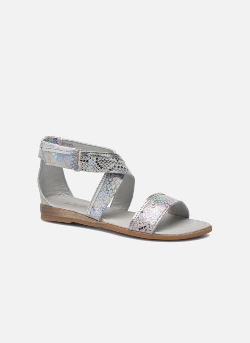 Sandales et nu-pieds Mod8 Joyce Argent vue détail/paire
