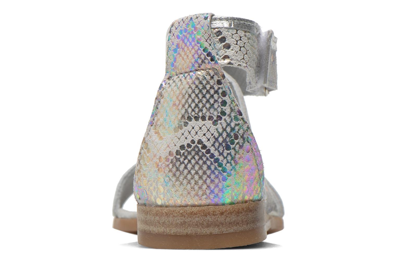 Sandales et nu-pieds Mod8 Joyce Argent vue droite