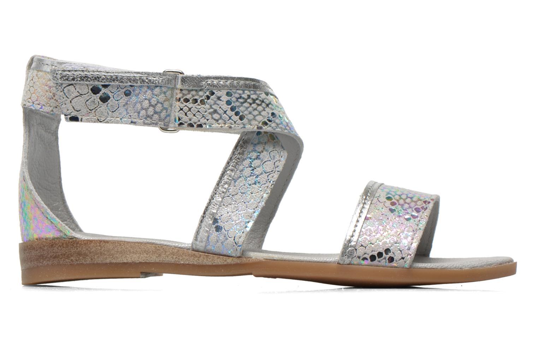 Sandales et nu-pieds Mod8 Joyce Argent vue derrière