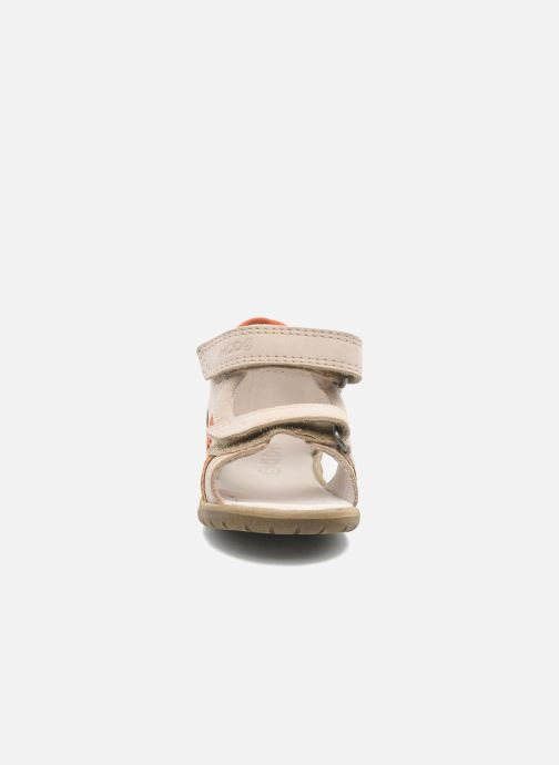 Sandales et nu-pieds Mod8 IDRIS Beige vue portées chaussures