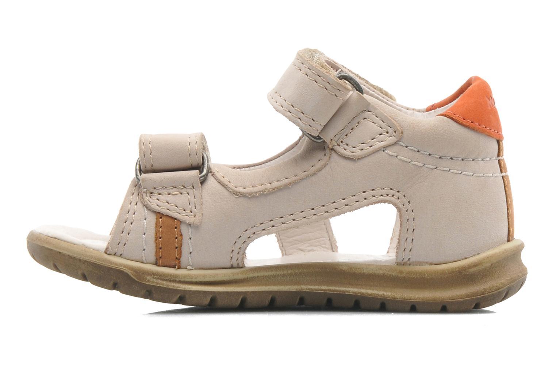 Sandales et nu-pieds Mod8 IDRIS Beige vue face