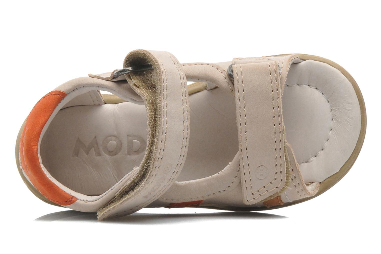 Sandales et nu-pieds Mod8 IDRIS Beige vue gauche