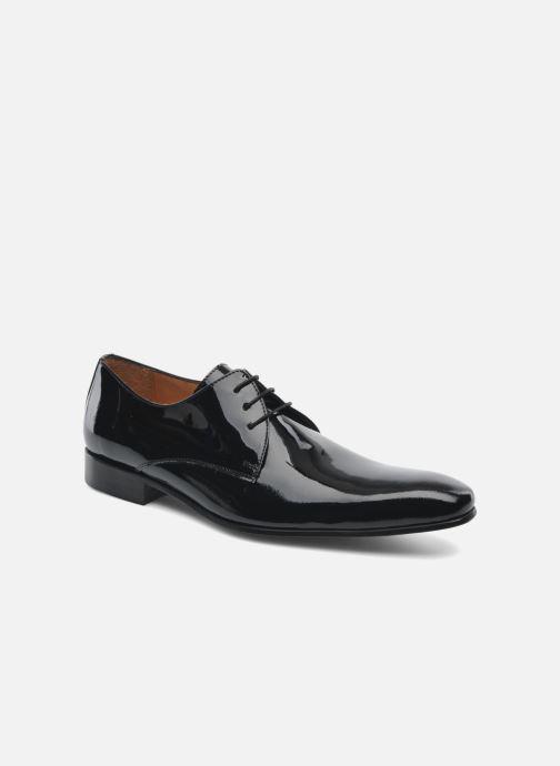 Zapatos con cordones Brett & Sons Carl Negro vista de detalle / par