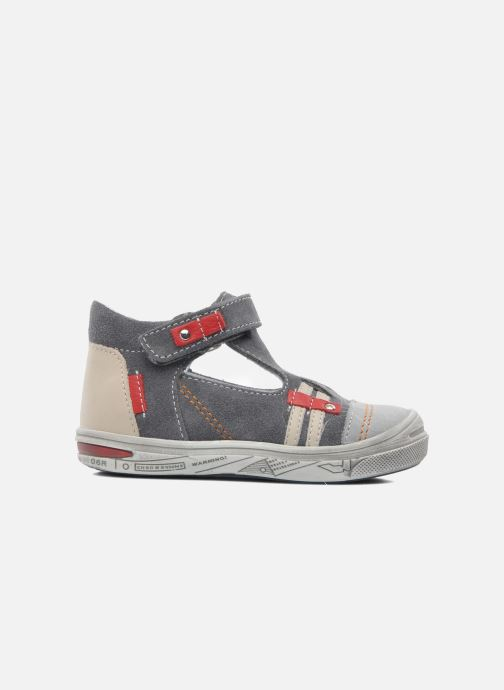 Summer boots Bopy BARANE Grey back view