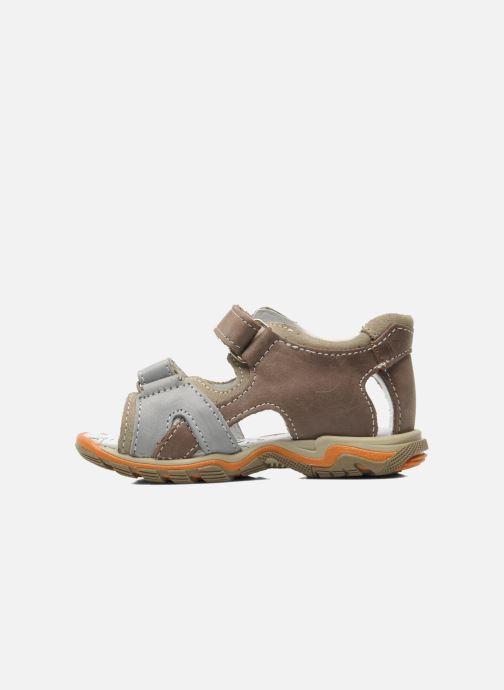 Sandales et nu-pieds Bopy BEBOLT Marron vue face