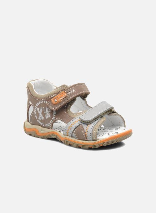 Sandales et nu-pieds Bopy BEBOLT Marron vue détail/paire