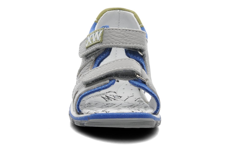 Sandali e scarpe aperte Bopy BEPANY Grigio modello indossato