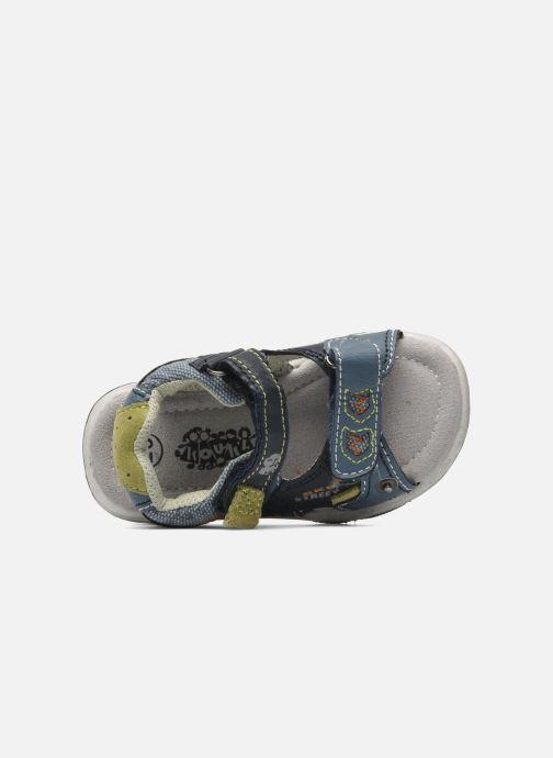 Sandalen Bopy CAMIPAKI KOUKI blau ansicht von links